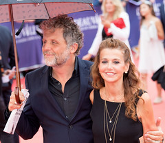 10-09-2016-31 Stphane Guillon Muriel Cousin (Thierry Sollerot) Tags: deauville2016 thierrysollerot tapis rouge deauville festival film amricain american