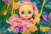 From What I Gather/ Fragonard's 'The Swing' (DisneyColor) Tags: theswing rococo fragonard blythe blythedoll painting