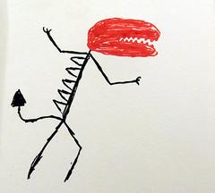 hungry (Sabbles) Tags: art illustration illustrator draw drawing artwork artstagram instaart artofinstagram inktober artist illust illustragram inktober2016 paper pen paint painting paintdrawing brushpen sketchbook sketchbooks sketch sketches posca paintpen poscapaint poscapaintpen graffiti graffitipen
