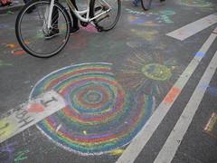 Street art (mendes.madalena) Tags: streetart color chalk art copenhagen road