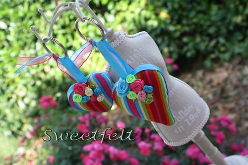 ♥♥♥ Coloridos... by sweetfelt \ ideias em feltro
