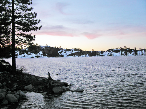 Blue Lake - Photo by Mark Wilson, Tahoe National Forest