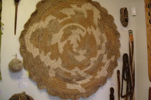 horsehair rug
