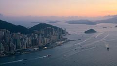 Where are we ? (terencehonin) Tags: sunset hk 35mm hongkong harbour sony voigtlander voigtlaender icc voigtländer f12 victoriaharbour nex nex5