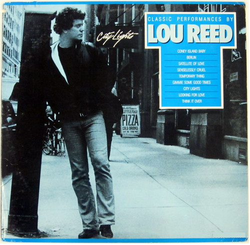 Lou Reed City Lights LP