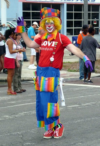 A gay clown