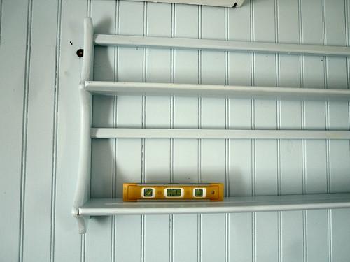 First shelf up...