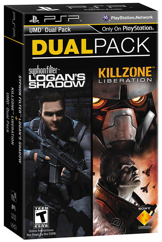 PSP DualPack: Syphon Filter: Logan's Shadow and Killzone Liberation