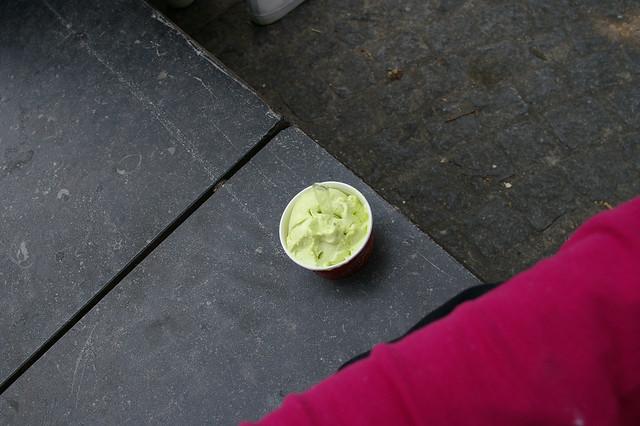 glace au kiwi