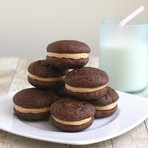Chocolate Sour Cream Cake Cookies