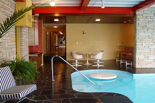 1965 Dahl House:  Indoor Pool Area