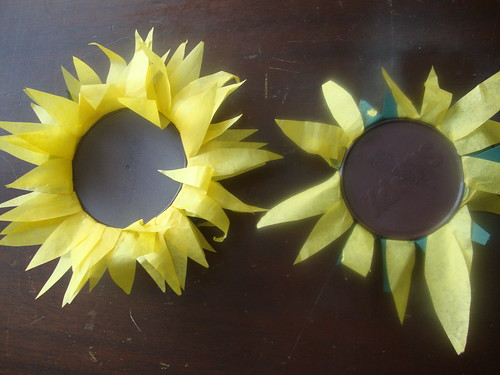 finished sunflower