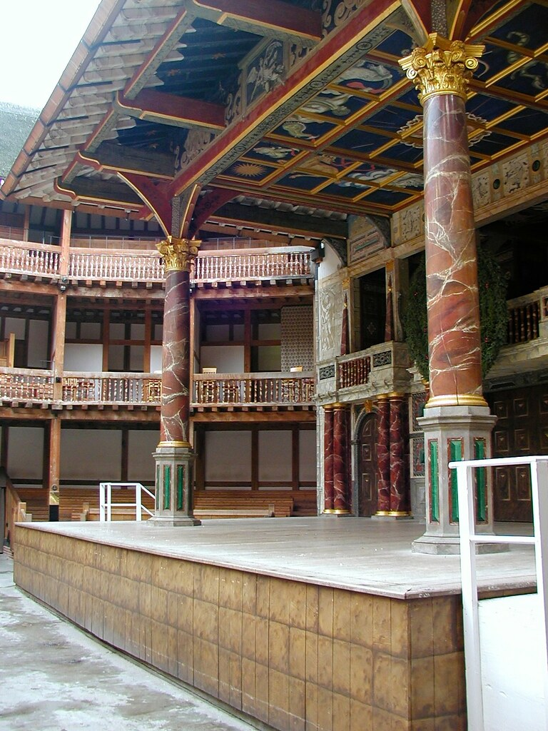 the burning of the globe theater essays