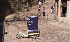 Blastads Mobile Billboard Advertsising (BlastAds) Tags: green bike promotion mobile advertising marketing scotland tricycle ad billboard aberdeen advert ambient environment trike sell campaign ecofriendly advertise influence adbike bikead adtrike blastads