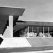 The building included an iconic folded plane canopy in front.