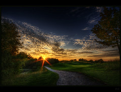 Southwest (Kemoauc) Tags: sunset sky cloud green golf nikon hdr d90 nikond90 nippenburg kemoauc