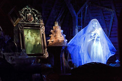 """I do... I did!"" (Todd Hurley (Todd_H)) Tags: headless bride scary ambientlight weddingcake ghost spooky projection axe attic waltdisneyworld themepark libertysquare thehauntedmansion wdi darkride imagineering themagickingdom wedenterprises flickrfridaythrowawayshot"