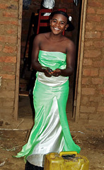 Wedding Dancing Girl (cowyeow) Tags: africa family wedding girls boy party woman color cute sexy green girl beautiful smile kids guests rural children happy yummy pretty village child african limegreen traditional hill young ceremony vivid marriage celebration reception littlegirl lime uganda celebrate hilltop teenage younggirls applegreen africanwedding