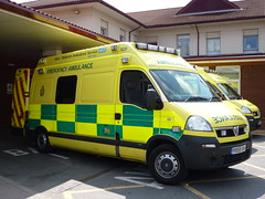 Emergency Ambulance (lydia_shiningbrightly) Tags: hospital ambulance nhs vehicle emergency warwick