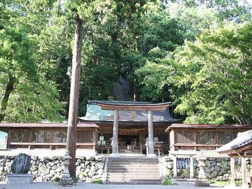 水の神社「丹生川上神社」3社めぐり『下社』@下市町