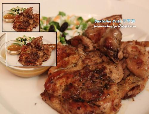 Santorini her-mus-ney chicken chop