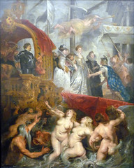 Rubens, Arrival (or Disembarkation) of Marie de Medici at Marseilles
