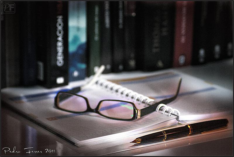 Bodegón de escritorio - Reflexiones fotográficas y artísticas