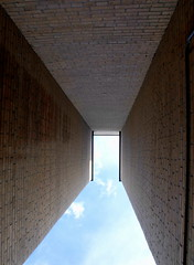 there is a door (dmixo6) Tags: sky lines grid geometry space angles math dugg dmixo6
