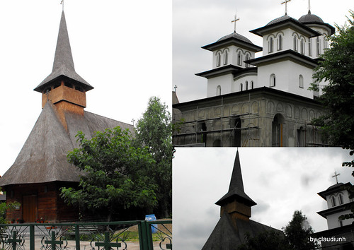 Biserica noua - Aleea Salaj by claudiunh