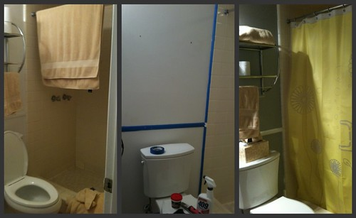bathroom toilet view