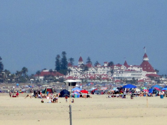 View of the Hotel Del Coronado