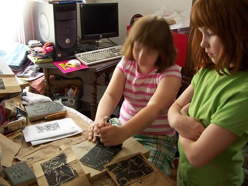 printing w/kids by Emilyannamarie