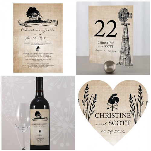 Western Wedding Invitations and Stationery Isn 39t the rustic and natural