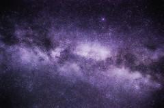 (BlackRockBacon) Tags: color photoshop way long exposure glow purple pentax galaxy 1750 pro tamron milky glamor k5 cs5 efex