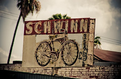 Safety Cycle (TooMuchFire) Tags: signs vintage typography losangeles neon signage schwinn lightroom oldsigns vintageneon vintageneonsigns signporn oldneonsigns neonporn toomuchfire 1014nwesternavelosangelesca