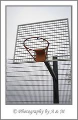 Bleak Court (I Spy with my Idiosyncratic Eye ...) Tags: park winter playground basketball hoop overcast wintertime damaged graysky greysky rec kingslynn recreationground northlynn photographybyaandm photographybyam
