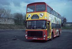 Clydeside Scottish Volvo Ailsa Alexander TSJ 593S (miledorcha) Tags: bus buses advertising volvo scottish western service local ailsa alexander paisley smt sbg psv pcv livery clydeside a2690 b5510 busgroup ailsavolvo avtype tsj593s