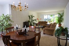 "CA-51 Dining Area and Living Room • <a style=""font-size:0.8em;"" href=""http://www.flickr.com/photos/76147332@N05/7042933273/"" target=""_blank"">View on Flickr</a>"