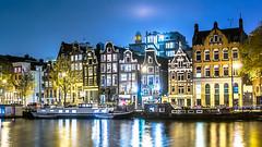 Amsterdam By Night (eye.rees) Tags: longexposure travel netherlands amsterdam night thenetherlands bynight noordholland amsterdambynight nizozemska