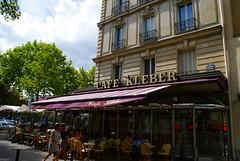 Cafe Kleber (tor-falke) Tags: city paris france french town frankreich capitale rue iledefrance frenchtown francais parisien parisrue lesruesdeparis parisbeautiful torfalke flickrtorfalke