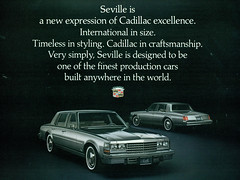 1976 Cadillac Seville (coconv) Tags: pictures auto door old classic cars car sedan vintage magazine ads advertising cards four photo flyer automobile post image photos antique album postcard 4 ad picture images seville cadillac advertisement vehicles photographs card photograph postcards 1975 vehicle autos collectible collectors 75 brochure automobiles dealer prestige