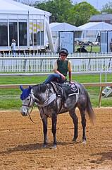 2012-05-12 (74) r3 pony people (JLeeFleenor) Tags: horses dog ma caballo cheval photography grey photos gray uma gigi cavallo cavalo each kuda alogo pimlico hest thoroughbreds soos hevonen koin 馬 häst лошадь 马 koń faras סוס حصان konj кон άλογο घोड़ा pfeerd ponypeople marylandracing leadriders leadrider