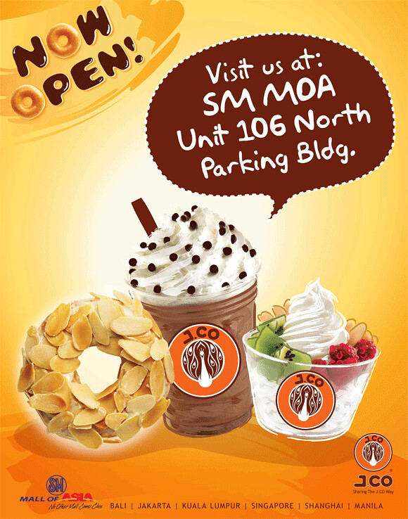 J.CO Donuts now in SM Mall of Asia!