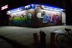 welling court by night (Luna Park) Tags: nyc light ny newyork court graffiti mural body united queens nighttime works astoria lunapark score welling wellingcourtmuralproject wcmp
