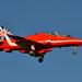 RAF Red Arrows Biggin Hill 2014 Red 10