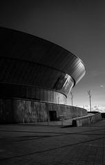 Echo Arena (rubenheijloo) Tags: bw blackwhite liverpool echo arena arc curves
