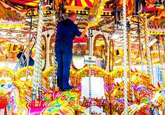 NO STANDING (Bart Weerdenburg) Tags: liverpool albertdock dock docks carrousel draaimolen colour color kleur repair standing nostanding childeren attraction
