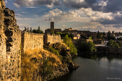 _DSC6994 (allabar8769) Tags: agua buitragodelozoya iglesia madrid murallas pantano ro torre atardecer