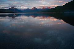 Glacier National Park (nebulous 1) Tags: glaciernationalpark glaciernp lakemcdonald lake water landscape nature sunset mountains light nikon nebulous1 glene explore