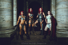 PS_86539-2 (Patcave) Tags: dragon con dragoncon 2016 dragoncon2016 cosplay cosplayer cosplayers costume costumers costumes shot hyborian age conan red sonja barbarians warriors comics comic book scifi fantasy movie film